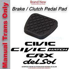 Genuine OEM Honda Brake / Clutch Pedal Rubber Cover 46545-SH3-000