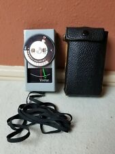 Vivitar 30 Photography Light Exposure Meter With Case.