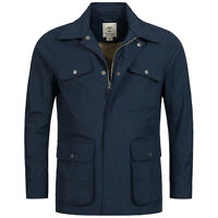 TIMBERLAND A1CNV-433 MOUNT WEBSTER MEN'S NAVY WATERPROOF FIELD JACKET