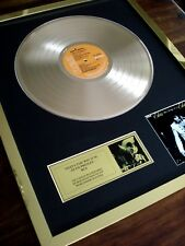 ELVIS PRESLEY THAT'S THE WAY IT IS LP 24CT GOLD PLATED DISC RECORD AWARD ALBUM