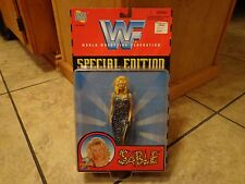 "1998 JAKKS PACIFIC--WF WORLD WRESTLING--6"" SABLE FIGURE (NEW) SPECIAL EDITION"