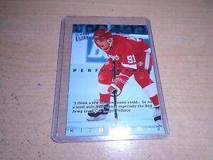 1994-95 Fleer Ultra Sergei Fedorov Performance Highlights # 3