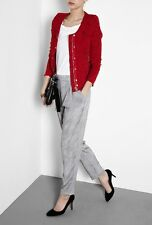 IRO 'Agnette' Distressed Tweed Red Jacket 2 / US 6 / FR 38 - SOLD OUT!