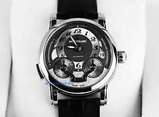 MONTBLANC NICOLAS RIEUSSEC 102337 CHRONOGRAPH WATCH ALLIGATOR BAND NEW BOX