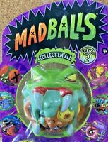 THEY'RE BACK BABY!!! SNAKE BAIT! MADBALLS UGLY TOYS SERIES 2 2017 TCFC MOC!!!