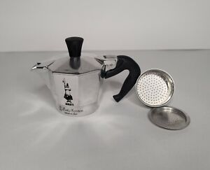VINTAGE BIALETTI MOKA EXPRESS STOVETOP EXPRESSO COFFEE MAKER MADE IN ITALY