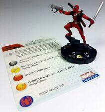 WIZKIDS®Marvel HeroClix #057 DEADPOOL™ Avengers/X-Force/Spider-Man