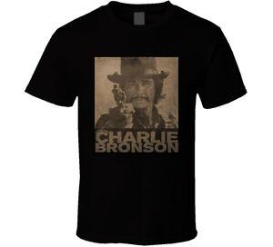 Charles Bronson muthaf---n movie star action t shirt