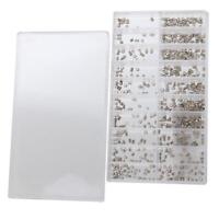 Wholesale 500pcs/lot Mix Size Watch Case Crown Tube For Watch Repair Accessory