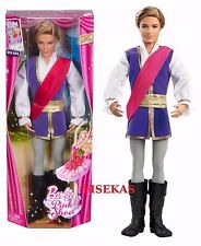 Barbie in the Pink Shoes Ken  Prince Siegfried Doll X8811 2012 NEW