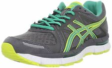 ASICS Women's Gel Neo33 Running Shoe,Titanium/Emerald/Lemon Chrome,10.5 M US