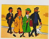 Carte Postale Tintin - Les aventures de Tintin n°4.  Editions YVON 1978