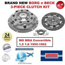 Brand New BORG n BECK 3-PC CLUTCH KIT for MG MGA Convertible 1.5 1.6 1955-1962