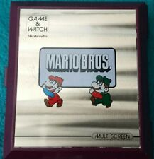 Rare Nintendo Game & Watch Mario Brothers - Fully working and in Great Condition