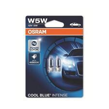 OSRAM COOL BLUE INTENSE W5W Glühlampe 2825HCBI für PKW und Motorräder, klar, 2 S