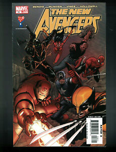 "New Avengers #16-20 Marvel Comics (2005) Complete ""Collective"" Arc Bendis (W)"