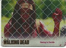 The Walking Dead color Metal Card #36 season 3 part 1 michonne danai gurira