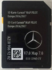 Genuine Mercedes Tarjeta SD Mapa Garmin piloto 2017 V7.0 última versión A2189069202