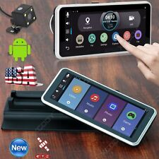 "HD 1080P 7"" Wifi Dual Lens Android GPS Navigation Car DVR Rearview Dash Camera"