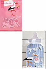 Marianne Design Collectables ELINE'S STORK Craft Die Set COL1420 New Baby