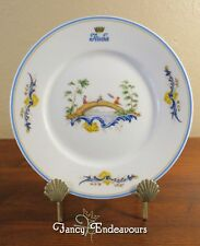 Italia Steamship Lines Richard Ginori Chinois First Class Plate Andrea Doria #3