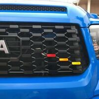 For 2016-2020 Toyota Tacoma TRD Pro Grill Decals Inlay 3 Colors US STOCK