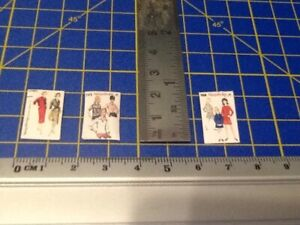 1960s sewing patterns 1:12th Scale Dolls House Miniature set 5