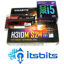 GIGABYTE H310M-S2H + i5-8400 Gen8 INTEL CPU 2.8Ghz SIX CORE + 8GB DDR4 2400 RAM