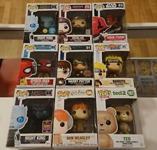 Lotto Funko Pop Harry Potter Ted Naruto Marvel Game Of Thrones Assassin's Creed