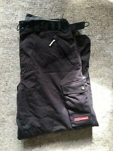 FOURSQUARE Snowboard Pants Men's 6k Large M Black