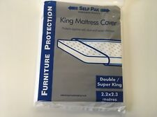 KING MATTRESS COVER  - Double Superking for Moving or Storage Large Polythene