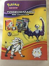 New In Box Pokémon Trading Cards Togedemaru Mini Collection Party Favor Fun Game