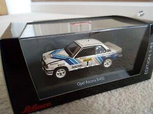 Opel Ascona B400 1/43 rally, Deutsches Opel Team, Schuco