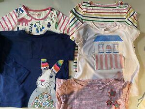 Mini Boden, Seed Girls Tshirt Bundle X6 Sz 4-5