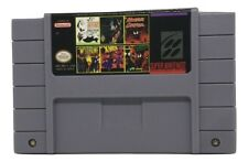 6 in 1 Multicart Super Nintendo SNES Batman Super-man X-men Venom Forever Rage