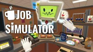 Job Simulator PC VR  [READ DESCRIPTION]