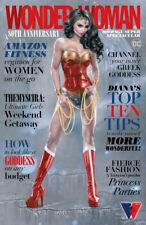 🔥 Wonder Woman 80Th Anniversary Super Spectacular #1 Natali Sanders Variant Nm!