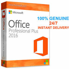 Genuine Microsoft Office 2016 Professional Plus Product Key & Download Link Code