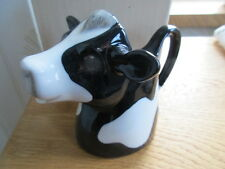 Friesan Cow Milk Jug By Quail Pottery New And Boxed Ideal Gift