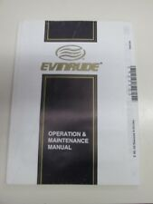 Evinrude Operation and Maintenance Manual 5032263