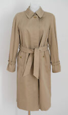 HAUT FEMME BURBERRYS trench-coat MAC Veste Beige Taille UK 14 L Grand Excellent