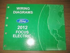 2012 FORD FOCUS ELECTRIC WIRING DIAGRAMS FACTORY ELECTRICAL SERVICE MANUAL