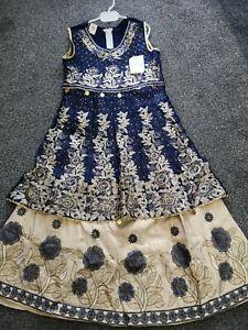 girls asian pakistani Indian lengha kameez dress special occasion party wear