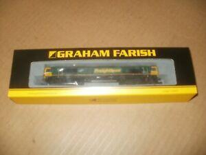 Graham Farish 371-385 Class 66 66546 FREIGHTLINER Train Set Model Railway Layout