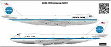 Boeing 747-121 Pan Am  decal 1125