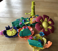 Polly Pocket Origin Products Mattel Flower Fairies Flying School Replacement