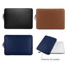 MOSISO Laptop Sleeve Bag PU Leather Super Padded Waterproof Protective Case 13''