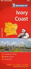 IVORY COAST National Map - Michelin 747 - NEW