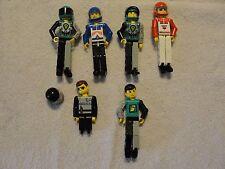 Lot of 5 Lego Technic Guy Figures Legos Must See