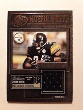 2003 Playoff Hogg Heaven Materials Hoggs Bronze JEROME BETTIS #MH-36 Steelers